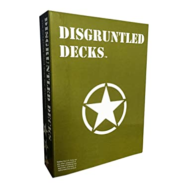 Disgruntled Decks - The Original Military Party Card Game for Veterans -  Army-themed  Deck