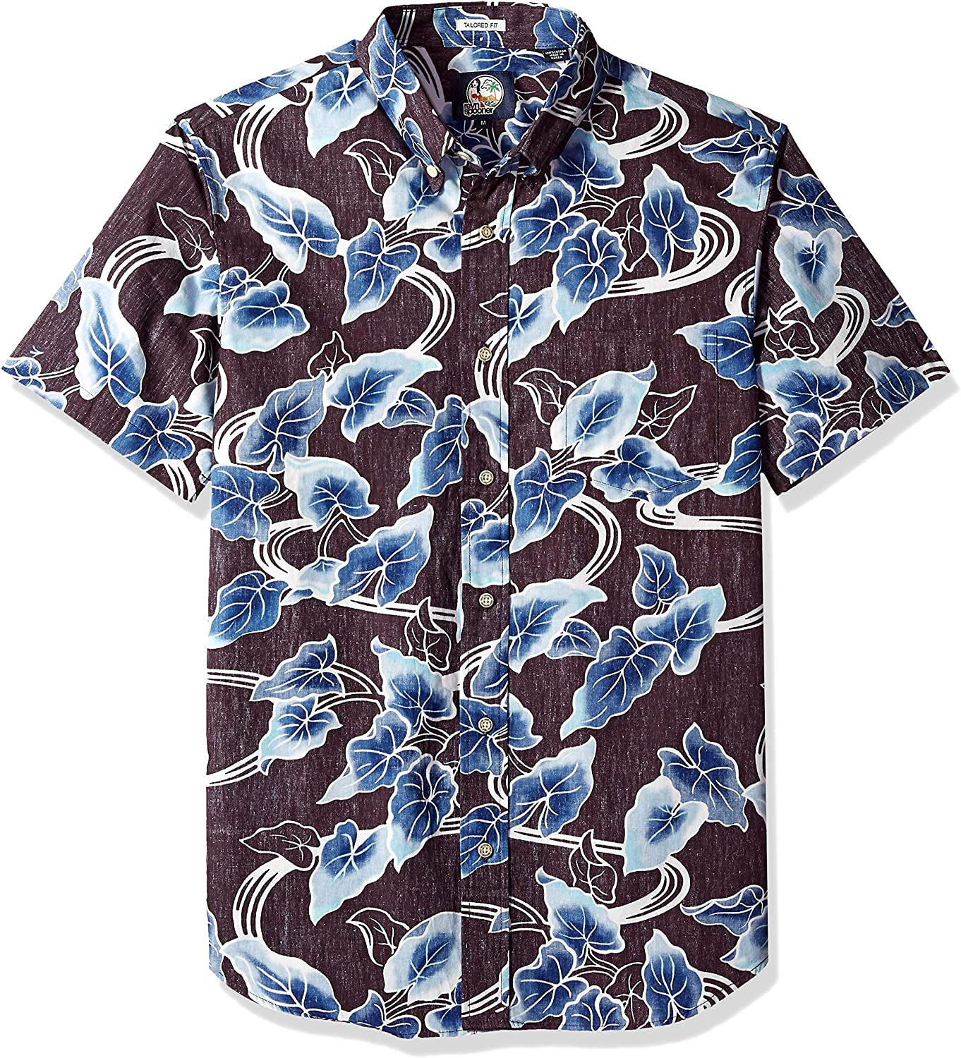 Reyn Spooner Men's Food & Wine Tailored Fit Hawaiian Shirt