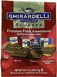 Ghirardelli Dark Assorted Chocolate Squares XL Bag, 16.71 oz.