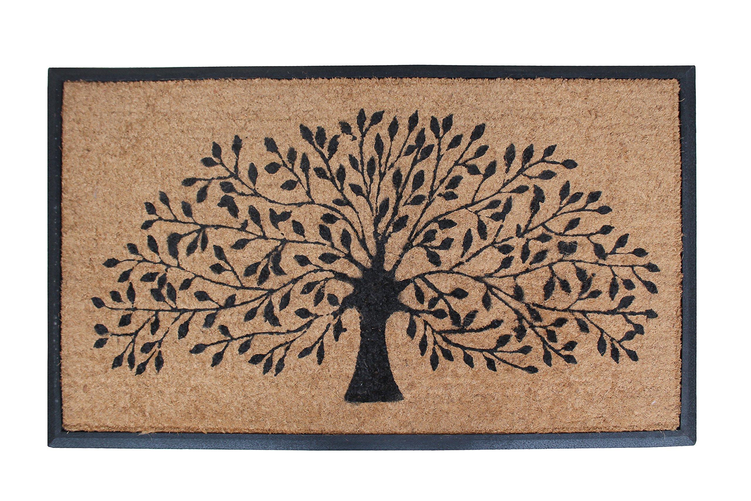 A1 Home Collections Doormat A1HOME200002 Shredding Tree Door Mat, 30'' X48 Life 30X48