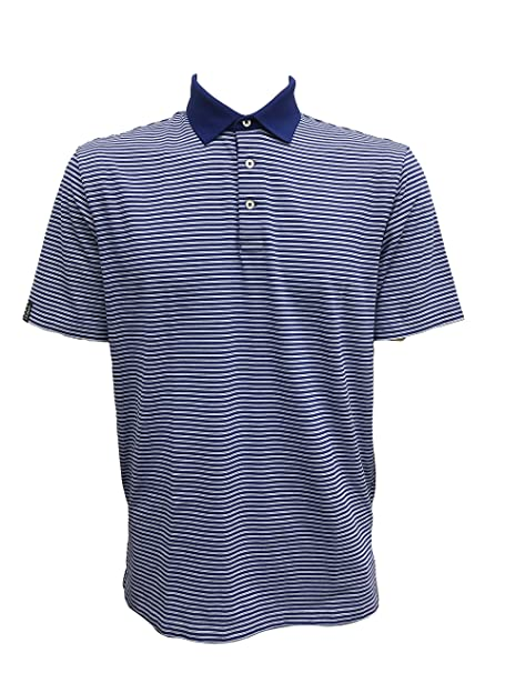 90d6c5c6 Polo Ralph Lauren Men's Classic Fit Pony Logo Striped Polo Shirt