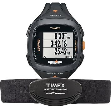 Amazon.com: Timex Ironman Run Trainer 2.0 GPS HRM Digital ...