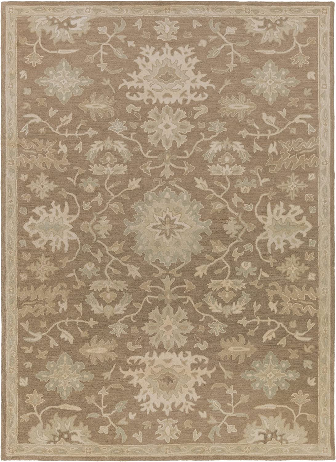 Amazon Com Surya Caesar Hand Tufted Classic Area Rug 12 Feet By 15 Feet Furniture Decor