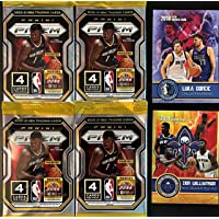 $74 » 2020-21 Panini PRIZM BASKETBALL 4 (Four) FACTORY Sealed PACKS 4 Cards Per Pack - Look for Valuable SILVER PRIZM Rookie Cards…