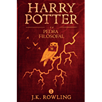 Harry Potter e a Pedra Filosofal (Portuguese Edition) book cover