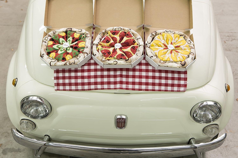 PIZZA SOCKS BOX CADEAU Dr/ôle en COTON! Pizza V/ég/étarienne pour Fammes et Hommes 41-46|fabriqu/é dans lUE Tailles UE: 36-40 4 paires de Chaussettes FANTAISIE Uniques et Originales