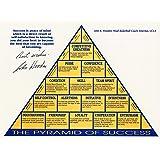 Kai'Sa John Wooden Autograph Replica Pyramid of Success Art Print,8×10 inches Unframed Canvas Print