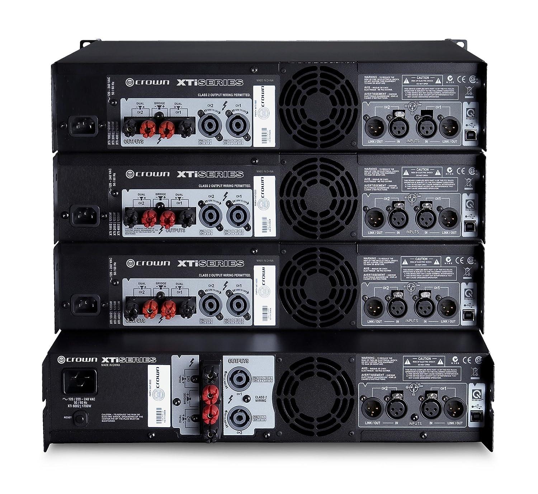 Crown XTI4002 - Xti-4002 etapa potencia: Amazon.es: Instrumentos musicales