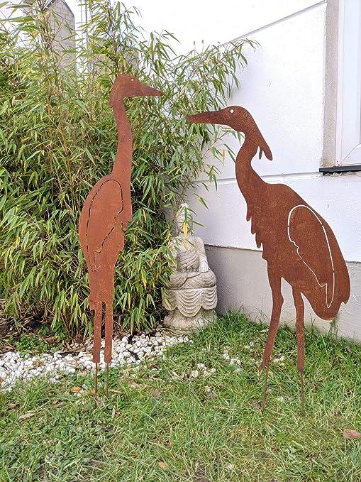 Zen Man 2st. Inset 032036,037 - Figura Decorativa para jardín (Metal): Amazon.es: Jardín
