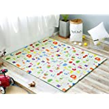 Amazon Price History for:Little Bot baby foam play mat, non-toxic, odourless and ultra-cushioned. Pirates and Alphabet, 71 inch x 59 inch