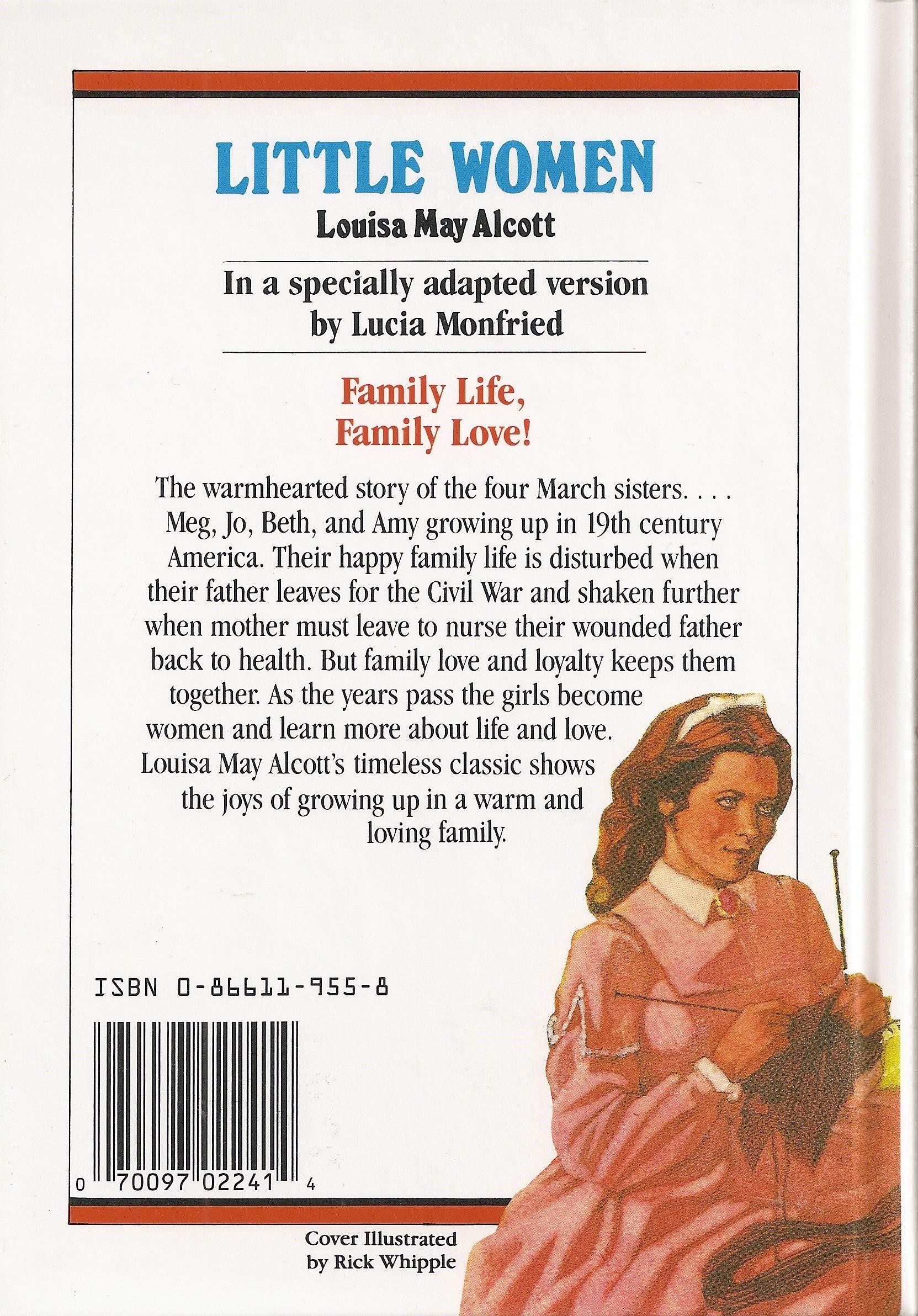 Little Women By Lucia Monfried