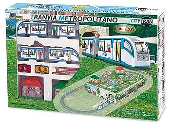 PEQUETREN - City Tran, tranvía con Diorama subterráneo ...