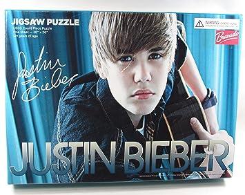 Amazoncom Justin Bieber Jigsaw Puzzle 30 X 20 Count Piece