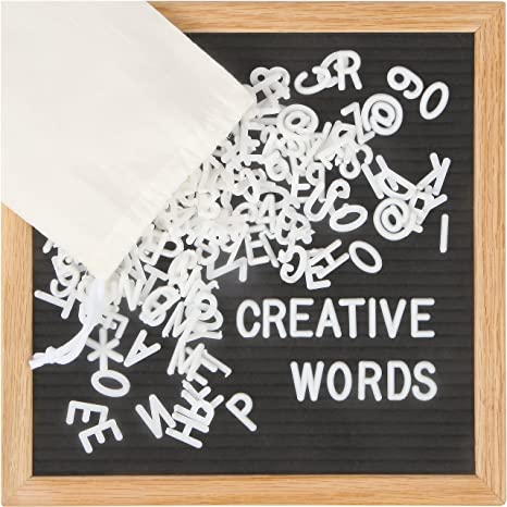 Amazon Creative Words Premium 10 X10 Changeable Letter Board