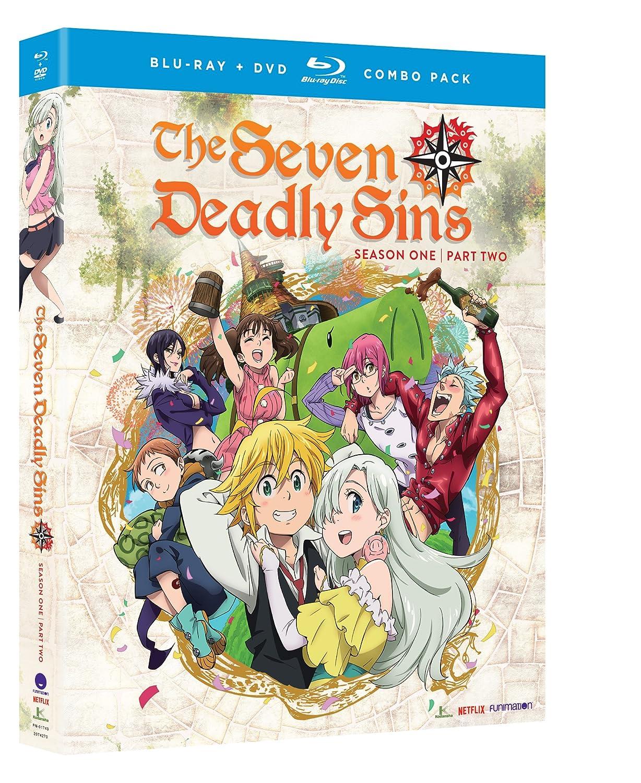 Seven Deadly Sins: Season One - Part Two (4 Blu-Ray) [Edizione: Stati Uniti] [Italia] [Blu-ray]