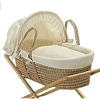 Baroo - Capazo para bebé, color crema