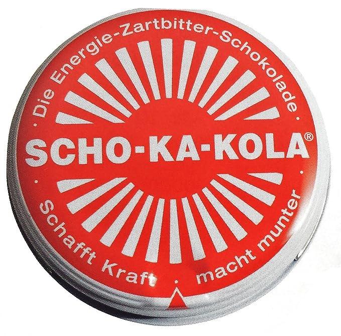 Scho-Ka-Kola Chocolate con cafeína alemán (3)
