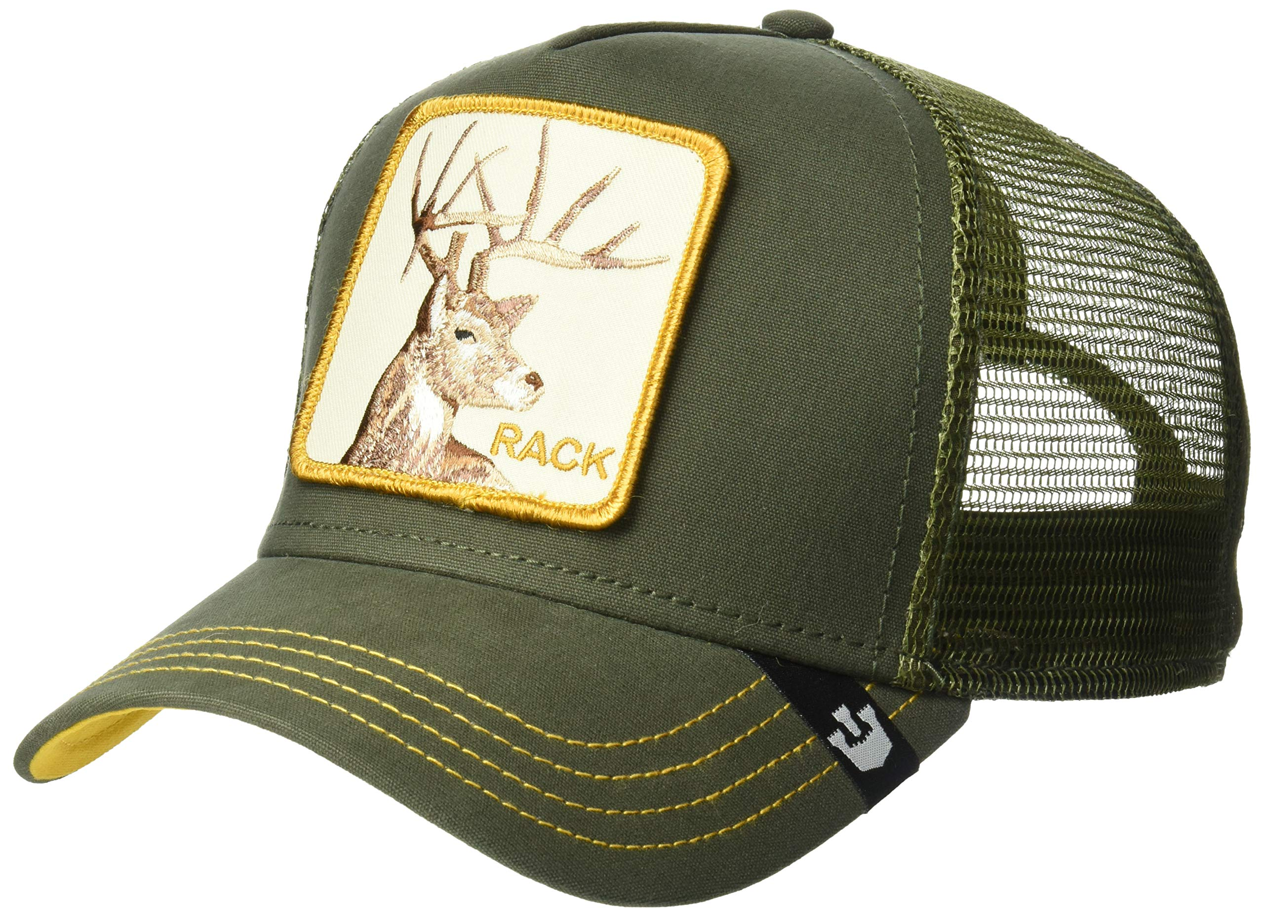 1d6a3e88 Galleon - Goorin Bros. Men's Animal Farm Trucker Hat, Green Deer, One Size