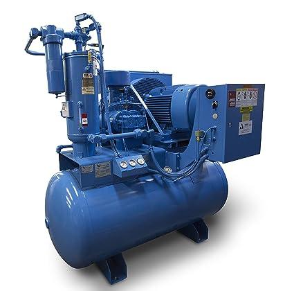 Amazon com: QNW-F40 Rotary Screw Air Compressor - 40HP