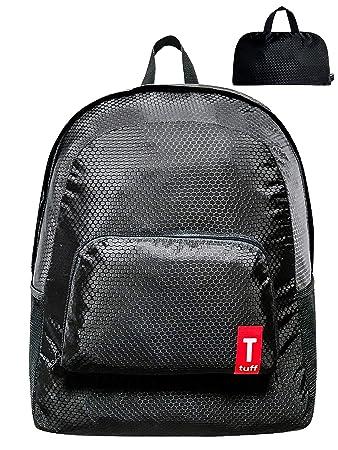 c93313a64a Tuff Foldable Daypack (20 Litres 30 15 37CM) Black