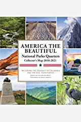 National Parks Commemorative Quarters Collector's Map 2010-2021 (includes both mints!) Hardcover