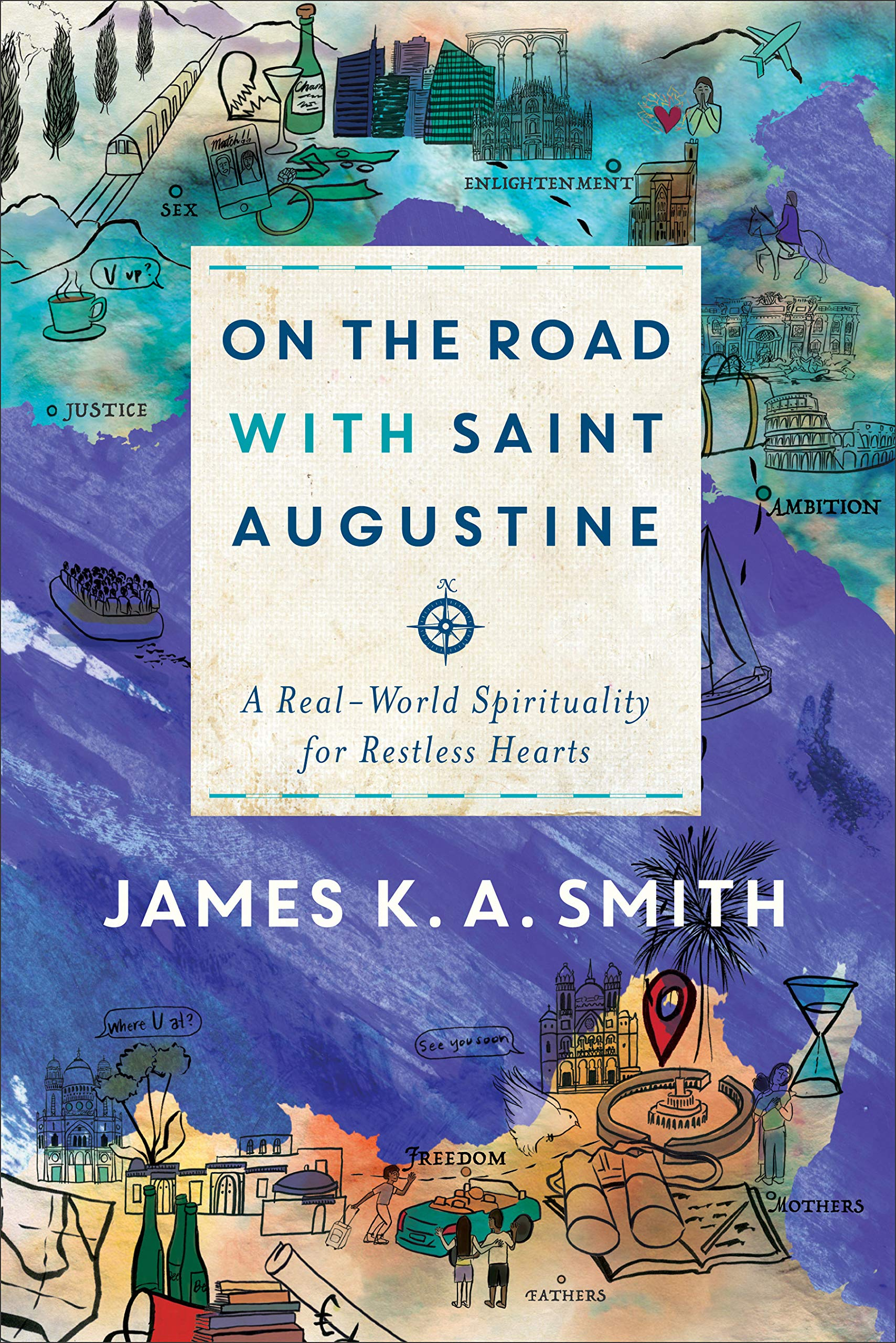 Image result for on the road with saint augustine