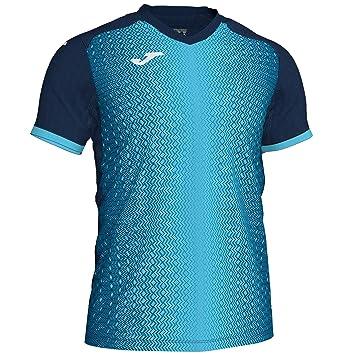 Joma - Camiseta Supernova Turquesa M/C Hombre: Amazon.es: Deportes y aire libre