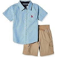 U.S. Polo Assn. Boys' Shorts Set
