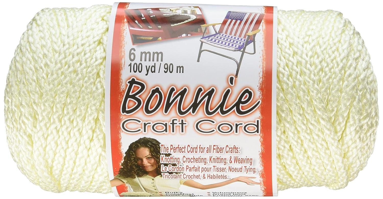 100-Yard Purple Pepperell 6mm Bonnie Macram/é Craft Cord