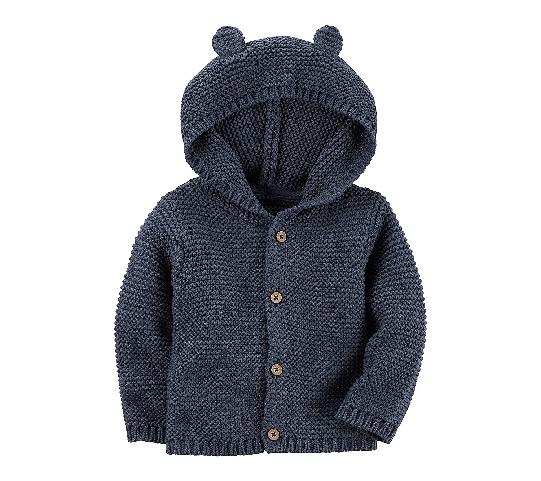 Carter's Baby Textured Bear Hoodie