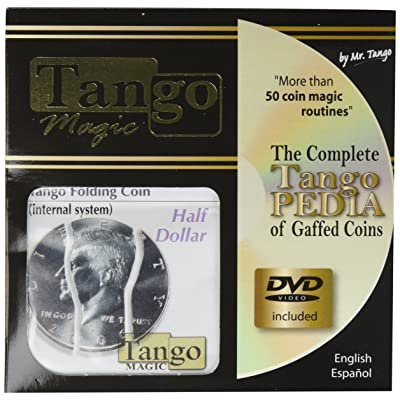 MMS Folding Coin Half Dollar (Internal System with DVD)D0022 - Tango: Toys & Games