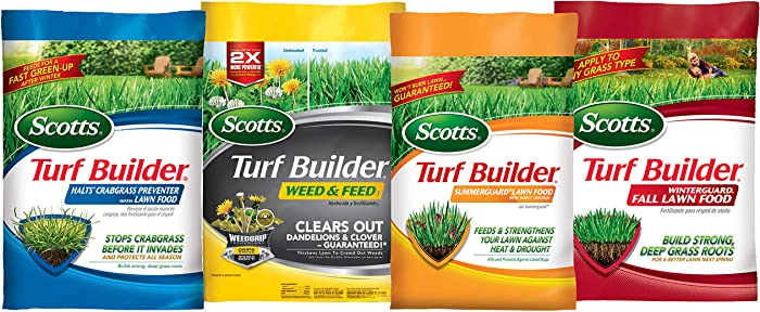 Scotts Lawn Care Plan (Small Yard)
