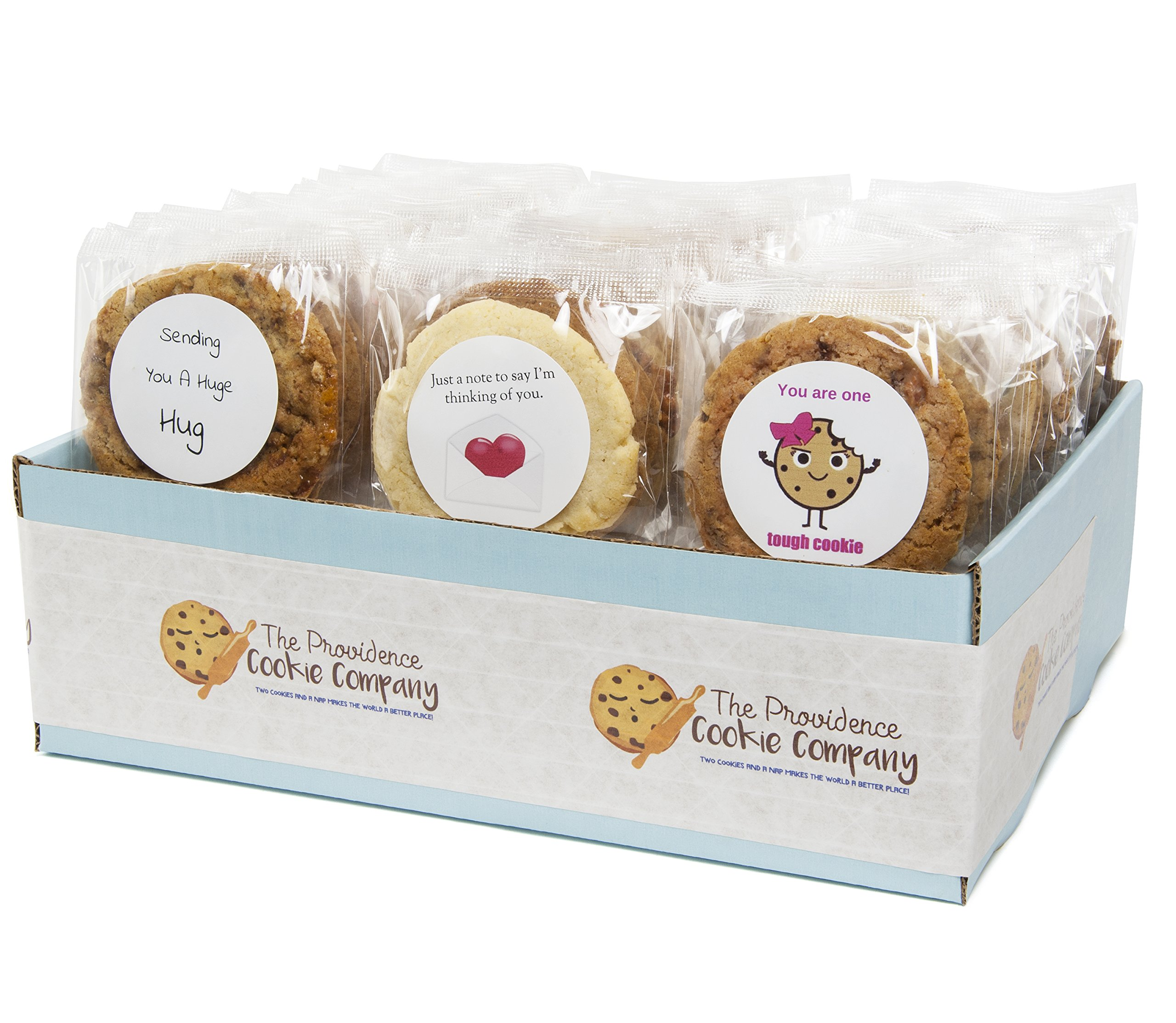 The Providence Cookie Company ENCOURAGING WISHES GOURMET COOKIE GIFT choose 1, 2, 3 or 4 Dozen (3 Dozen) by The Providence Cookie Company llc (Image #1)