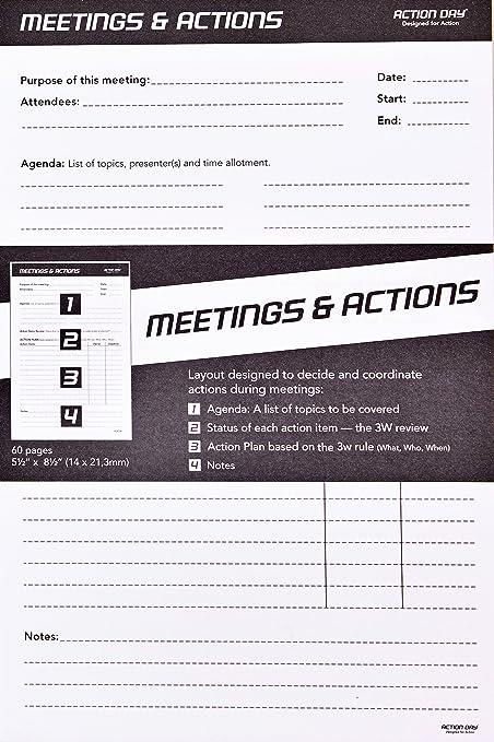 Acción día - reuniones y diseño de acciones Pad - diseñado ...