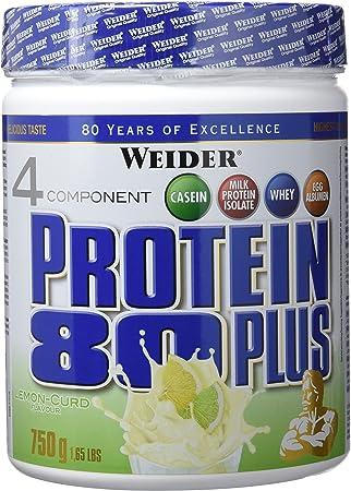 Weider Protein 80 Plus Queso Fresco Limón - 750 gr