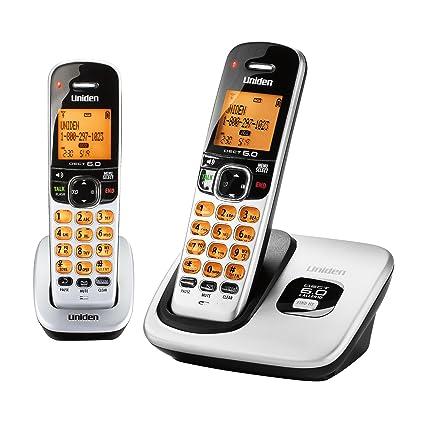 amazon com d1760 2 dect 6 0 expandable cordless phone with caller rh amazon com uniden cordless phone instruction book uniden cordless phones operating manual