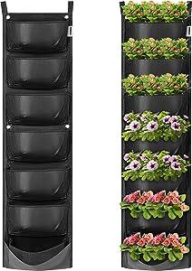 VIVOSUN 7 Pockets Vertical Wall Garden Planter Wall Mount Planter Pouch