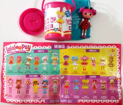 Superior Mini Lalaloopsy Surprise Mystery Paint Cans  Series 1