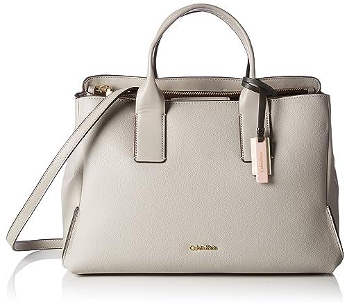 69d4696b8ac31f Calvin Klein Milli3 Business Tote - Borse Donna, Beige (Surplus), 18x24x35  cm