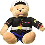 "Chantilly Lane 19"" American Hero Marines Bear Sings ""From The Halls of Montezuma"""