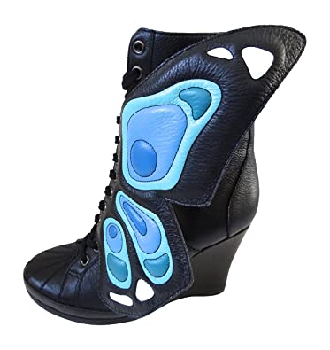 adidas Originals Womens Jeremy Scott JS Wings Wedge Butterfly Boots G61078  (UK 5.5 US 7 bbdd39e7a4