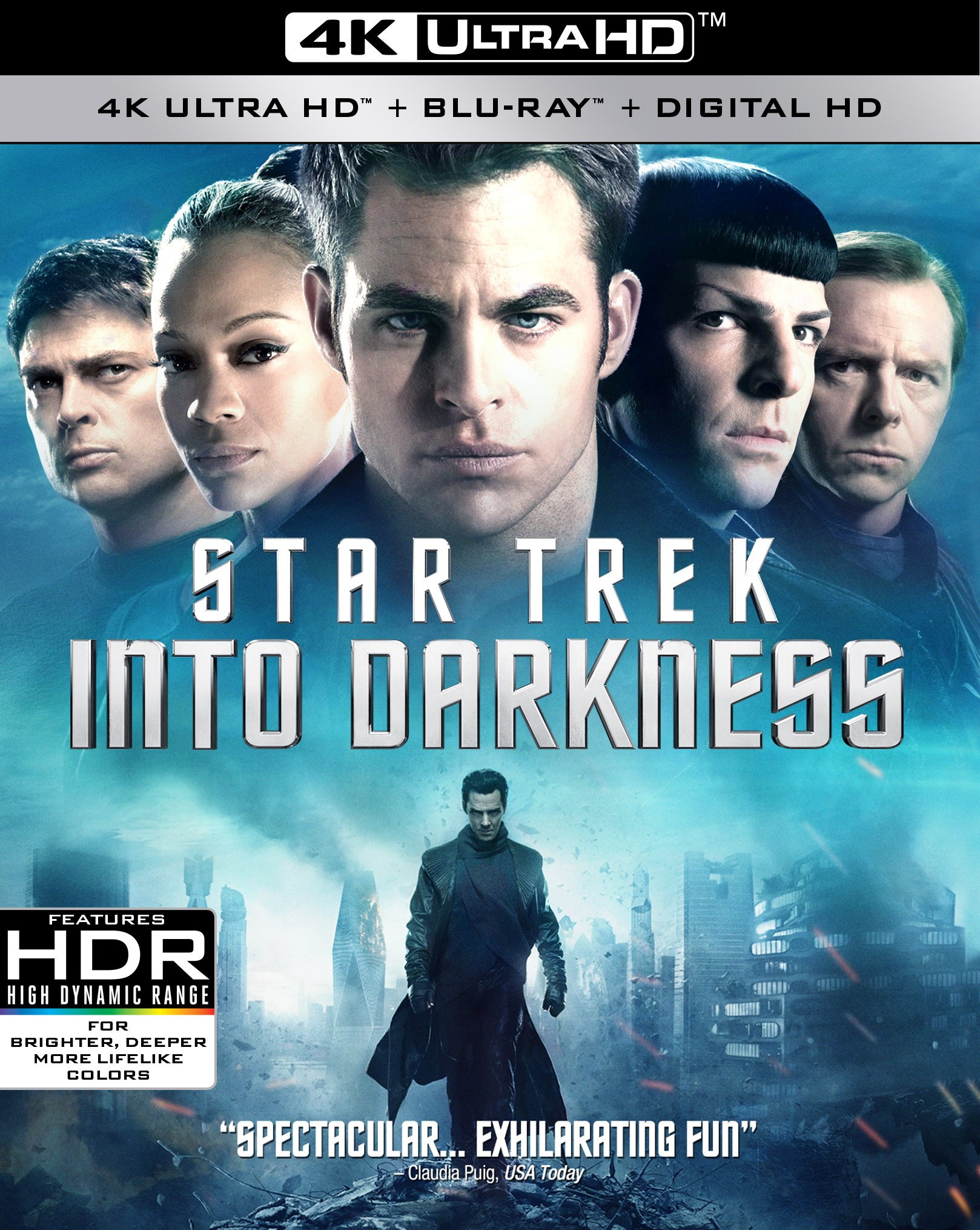 4K Blu-ray : Star Trek: Into Darkness (Widescreen, Dubbed, , AC-3, Dolby)
