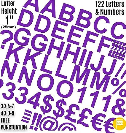 Self Adhesive Waterproof Vinyl Labels pack of 250 20mm Purple Star Stickers
