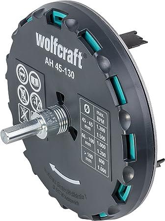 /ø 15mm Wolfcraft 7573010 1 Foret /à M/étaux HSS Meul/é Longueur de 169mm