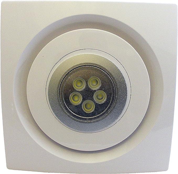 Extractor de techo de cocina para baño con luz LED 100 mm 4