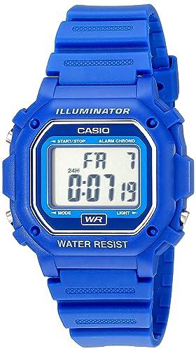 la mejor actitud 34170 75fe9 Casio F-108WH-2ACF - Reloj digital resistente al agua con correa de resina  azul, unisex