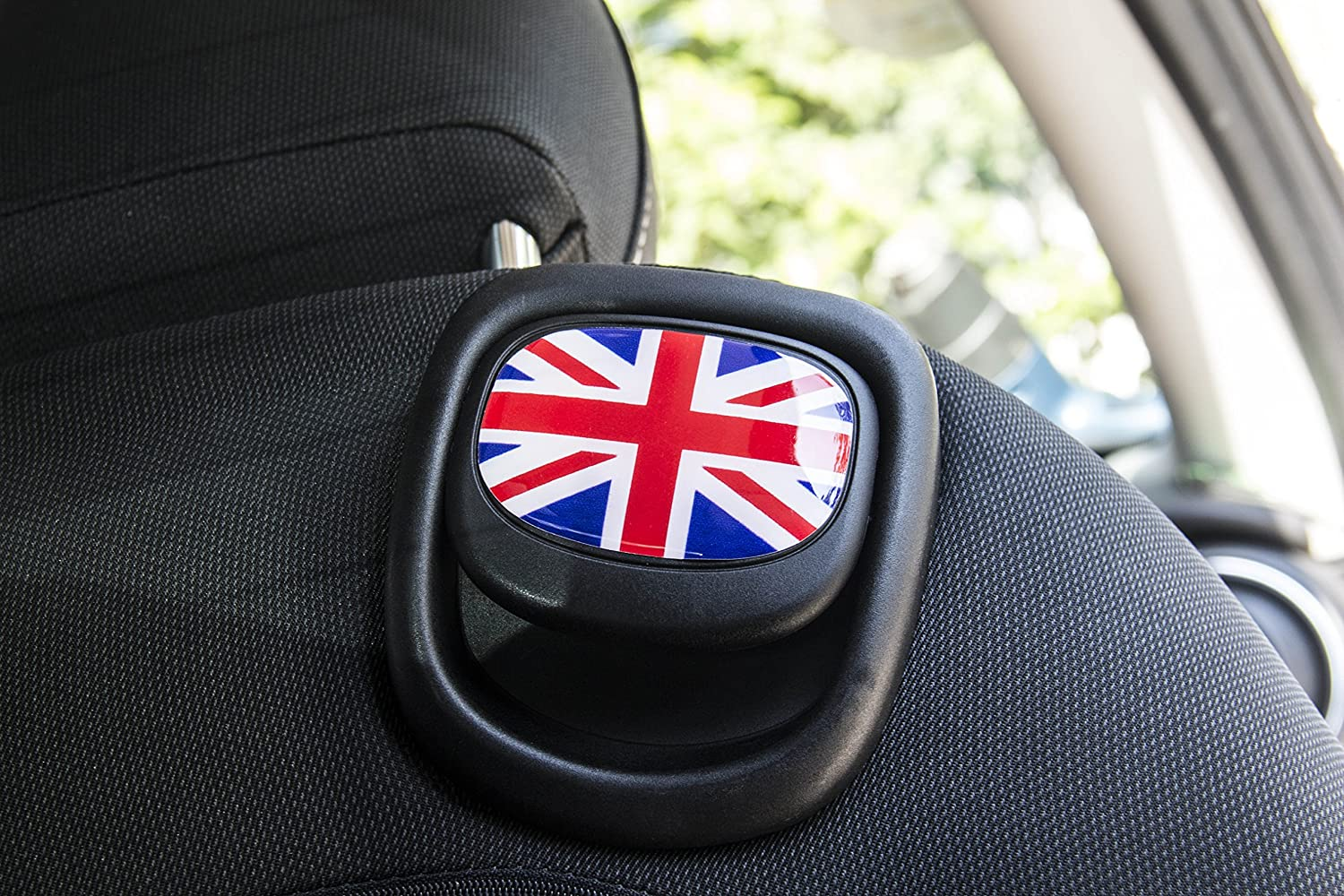 LVBAO Seat Handle Decal Cover Sticker Trim Caps for Mini Cooper ONE//S//JCW F55 Hardtop F56 Hatchback F57 Covertible 13