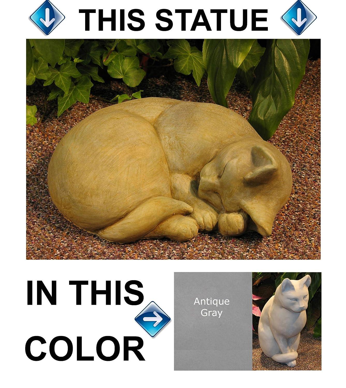 Amazon.com : SLEEPING CAT STATUE : Garden & Outdoor