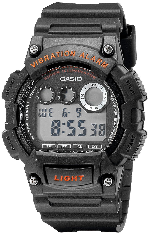 Casio W735H-2AVCF - Reloj para hombres, correa de resina: Casio: Amazon.es: Relojes