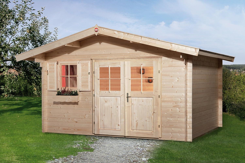 Weka Gartenhaus 111 Gr. 2 Vordach 60 cm